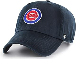 '47 Authentic Chicago Cubs Navy Bullseye Cleanup Adjustable Cap