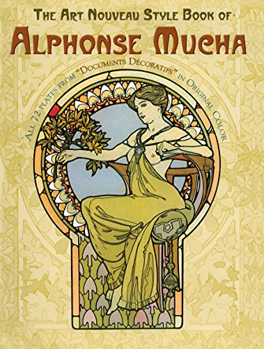 The Art Nouveau Style Book of Alphonse Mucha (Dover Fine Art, History of Art) (English Edition)