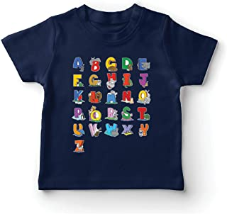 T Shirts for Kids The Alphabet tees Animal ABC Song Design Learning Letters Gifts