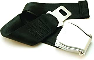 """Adjustable 7-24"""" Airplane Seatbelt Extender - FITS All Airlines (not Southwest) - Free Carrying Case - E4 Safety Certified..."""