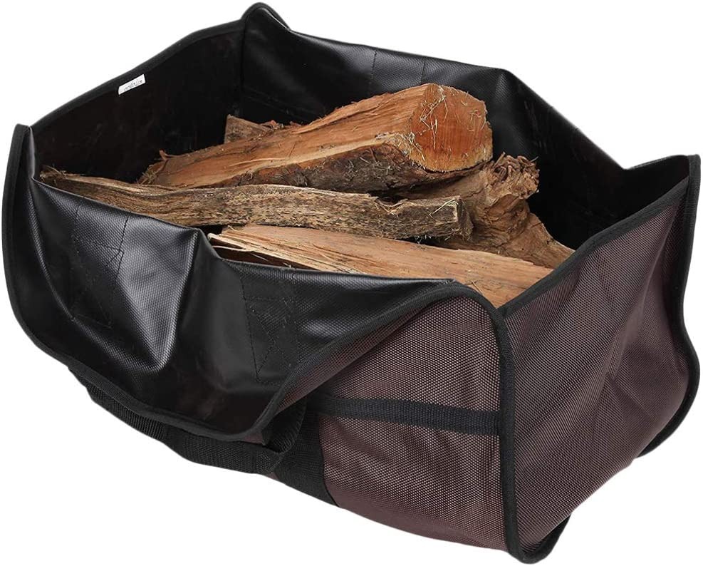 Cabilock Firewood Tote famous Bag Genuine Free Shipping Large Log Stove Carrier Acc Fireplace