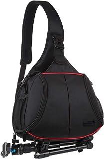 اكسسوارات كاميرا LGYD PULUZ مثلث نمط حقيبة كاميرا SLR حقيبة ظهر مقاومة للماء حقيبة كتف واحدة حقائب رسول