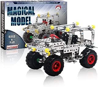 Iron Commander Model Cars Kit to Build Metal Erector Sets for Boys Model Cars Adults Model Car Off-Road Erector Set (816B-48)
