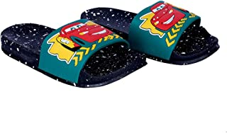 Hopscotch Walk Well Boys and Girls Rubber Flip Flop in Black Color