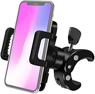 Bike Phone Mount, Tobeape 360° Rotatable Adjustable Silicone Phone Holder Universal Bike Cell Phone Mount for Ring Light T...