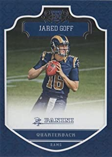 Jared Goff 2016 Panini Mint Rookie Card #218 Picturing this Los Angeles Rams Star in His Blue Jersey