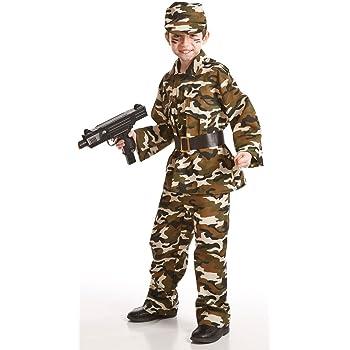 Disfraz de Militar para niños: Amazon.es: Juguetes y juegos