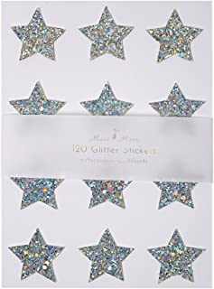 Meri Meri Chunky Glitter Star Stickers Sheets 10 Pieces