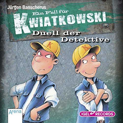 Duell der Detektive audiobook cover art