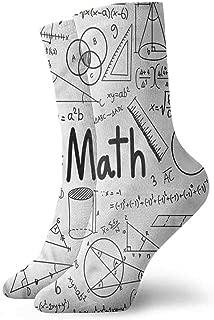 Hot sale Socks Mathematics Classroom,Math Book,socks for flats