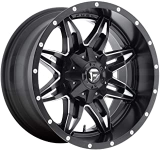 FUEL Lethal NBD-Matte BLK MIL Wheel with Painted (15 x 10. inches /5 x 114 mm, -43 mm Offset)