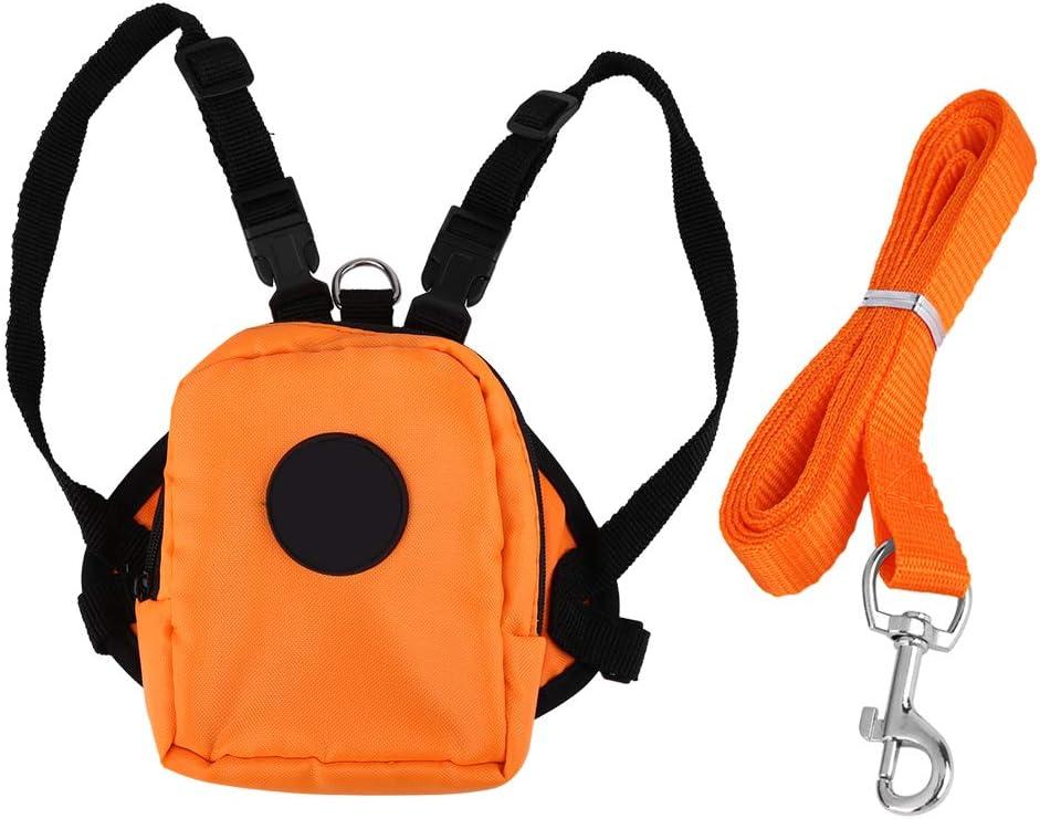 DAUERHAFT Pet Backpack Durable Snack Bag for Hol Finally resale start free Convenient