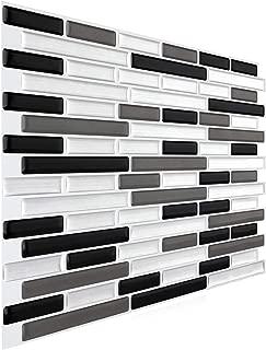 FARONZE Peel and Stick Mosaic Sticker Kitchen Backsplash Tiles, Bathroom Wall Sticker 11