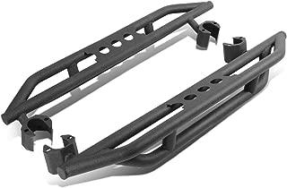 For Jeep Wrangler JK 2-Door Pair of Rock Crawler Side Step Armor Bar Running Board