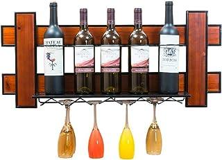 Logo TLF-FF Estante del Vino Colgar de la Pared de Cristal Vino Titular cáliz Colgador Boom Bar gabinete del Vino