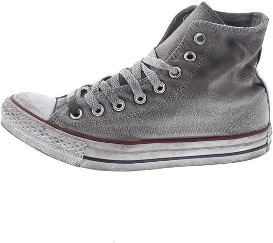 Converse, Unisex Adulto, all Star Chuck Taylor High Canvas Ltd Op, Tela, Sneakers Alte, Grigio