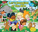 Fisher Price Little People Let's Imagine at the Zoo: Over 50 Fun Flaps to Lift!