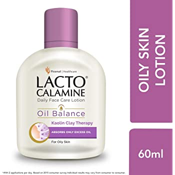 Lacto Calamine Face Lotion for Oil Balance - Oily Skin - 60 ml