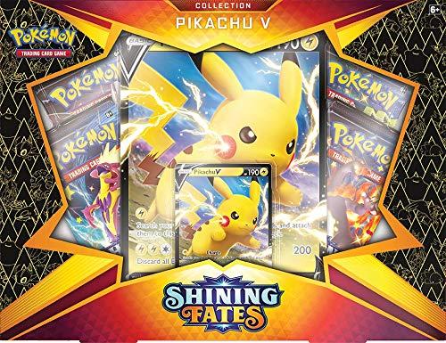 Pokemon TCG: Shining Fates Collection Pikachu V Box