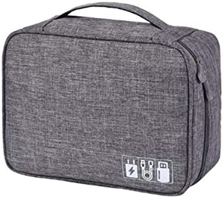 حقائب مستحضرات التجميل للسفر متعددة الوظائف، حقيبة ادوات الزينة مضادة للماء مربعة لتنظيم ادوات المكياج