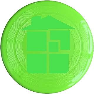 RCINC Home Anime Logo Outdoor Game Frisbee Ultra Star RoyalBlue