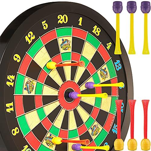 Doinkit Darts Kid-Safe Indoor Magnetic Dart Board - Easy to Hang, Fun...