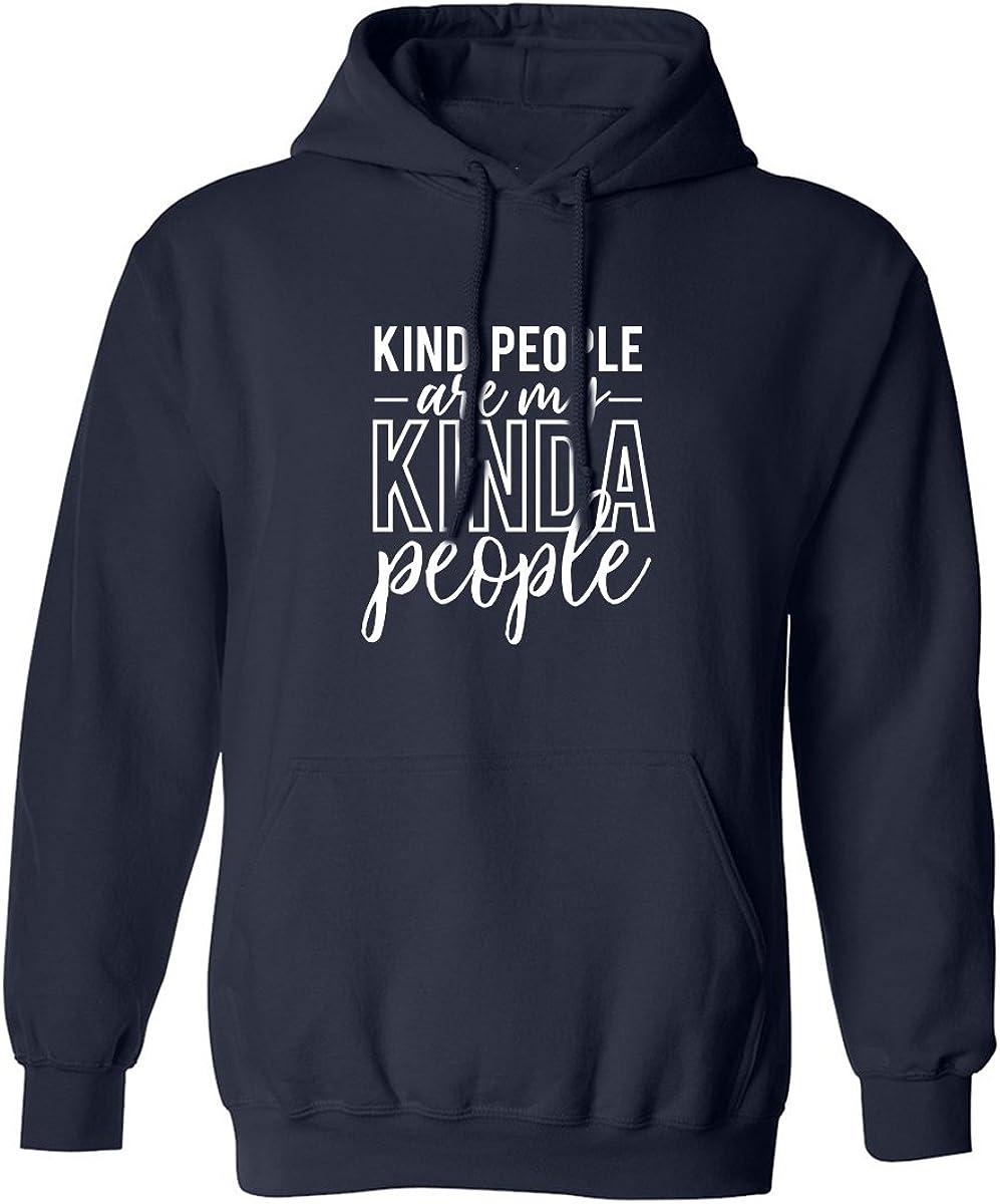 Kind people are my kinda people Adult Hooded Sweatshirt