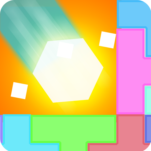 Hexagon Crush - Tower Balancing Puzzle Game with Six Sided Hexagon