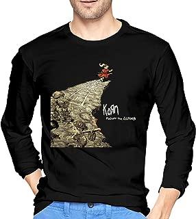 Korn Follow The Leader Cotton Mens T Shirt Fashion Long Sleeve Men Tee Shirt Black