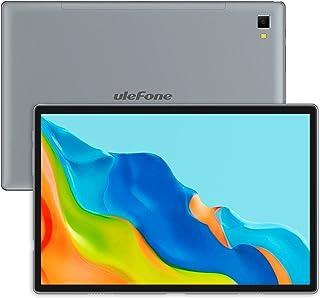 Tablet 10,1 Zoll, Ulefone TAB A7 Android 11 Tablet PC 4GB RAM 64GB ROM Octa-Core Prozessor 13MP + 5MP Kameras GPS WiFi Bluetooth 5.0 Typ C 7680mAh Akku 4G LTE Dual Lautsprecher