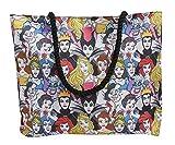 Disney Tote Bag Ursula Ariel Maleficent Cruella de Vil (Princesses and Villains)