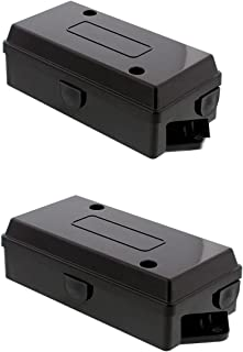 ABN Electrical Wire Connectors Junction Box 2-Pack Trailer, Camper, RV Light 7 Gang/Pole Automotive Wiring Rewiring
