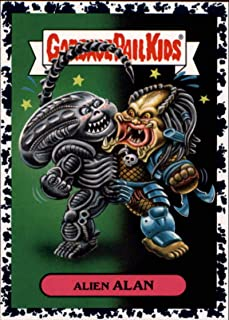 2018 Topps Garbage Pail Kids Oh The Horror-ible Modern Sci-Fi Sticker A Bruised #1A ALIEN ALAN Sticker Trading Card