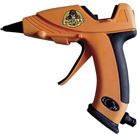 Gorilla Dual Temp Hot Glue Gun, Mini, Orange, (Pack of 1) - 8401508