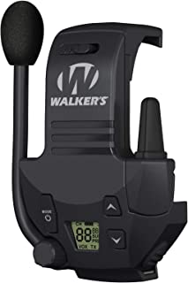 Walker's Razor Walkie Talkie Handsfree Communication up to 3 Miles
