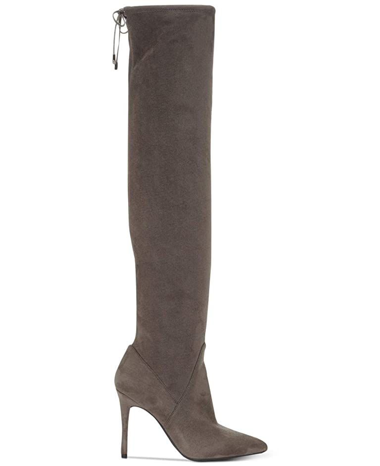 証人ビンふさわしい[Jessica Simpson] Womens Lessy Pointed Toe Over Knee, Really Grey, Size 7.0 [並行輸入品]