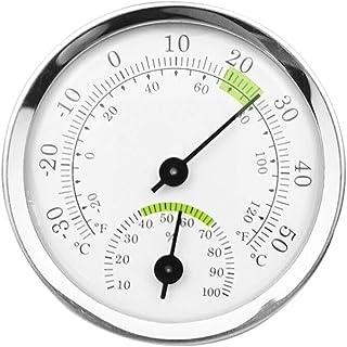 YUZI Misuratore di umidità analogico in lega di alluminio termometro stabile misuratore di temperatura portatile da append...