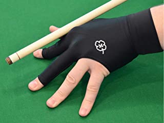 McDermott Billiard Pool Glove - Left Hand Fit for Right Handed Players - Medium