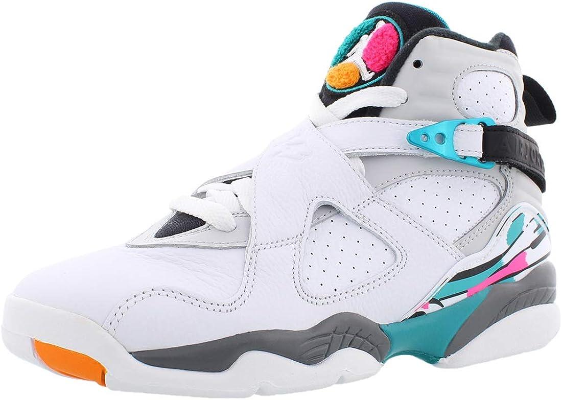 Jordan Retro 8 Basketball Boy's Shoes