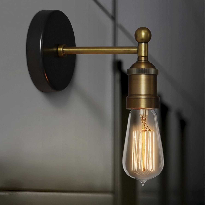 GZ-Ming und Qing Dynastien Klassische Spiegel Scheinwerfer Nachttischlampe kreative Retro warme Eisen Treppe Lampe Kabine lighting18  12,5 CM E27