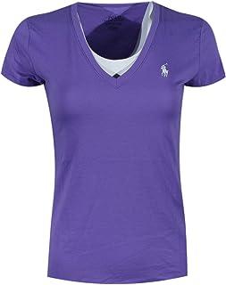 POLO RALPH LAUREN Women's Pony Logo V-Neck T-Shirt