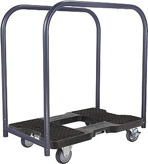 SNAP-LOC 1200 LB Professional E-Track Panel CART Dolly Black