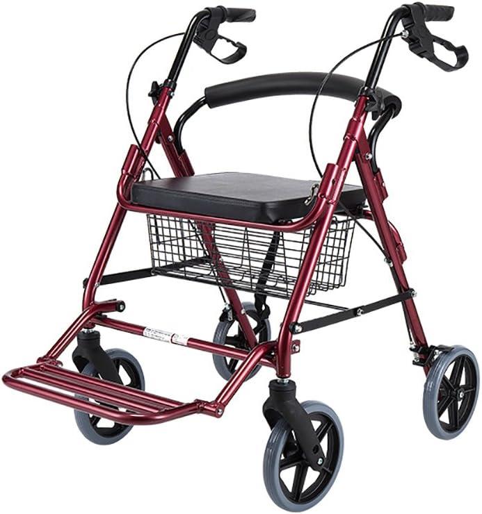 Yxsd Elderly Walker Folding Max 83% OFF Rollator F Portable Surprise price Auxiliary