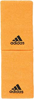 Large Tennis Wristbands Flash Orange and Carbon (One Size Flash Orange and Carbon)