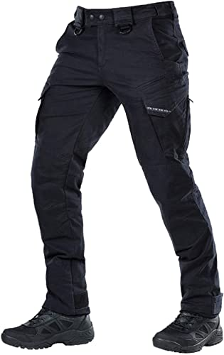 X-Future Mens Hipster Metal Zip Trim Straight Leg Military Work Cargo Pants