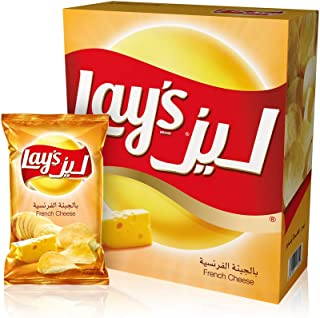Lay's French Cheese Potato Chips 23gm x 14