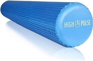 High Pulse® Pilates roller incl. fitnessband + gratis oefenposter - De multifunctionele schuimroller is ideaal voor spierv...