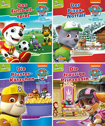 Nelson Mini-Bücher: PAW Patrol 9-12: 24 Mini-Bücher im Display