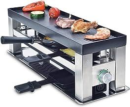 Solis 4 in 1 Table Grill - Ensemble gourmet - Convient à jusqu'à 3 personnes