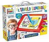 Liscianigiochi-Io Leggo a 3 Anni con Tavolo Luminoso, Multicolore, 68593